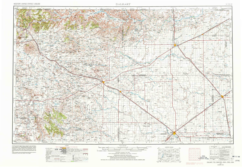 Amazon.com : YellowMaps Dalhart TX topo map, 1:250000 Scale ... on greater houston texas map, hartley texas map, chapman ranch texas map, bloomburg texas map, tulia texas map, claude texas map, waxahachie texas map, texline texas map, lockney texas map, nocona hills texas map, deanville texas map, lueders texas map, bovina texas map, devers texas map, decordova texas map, decatur texas map, estelline texas map, faith texas map, sidney texas map, lubbock texas map,
