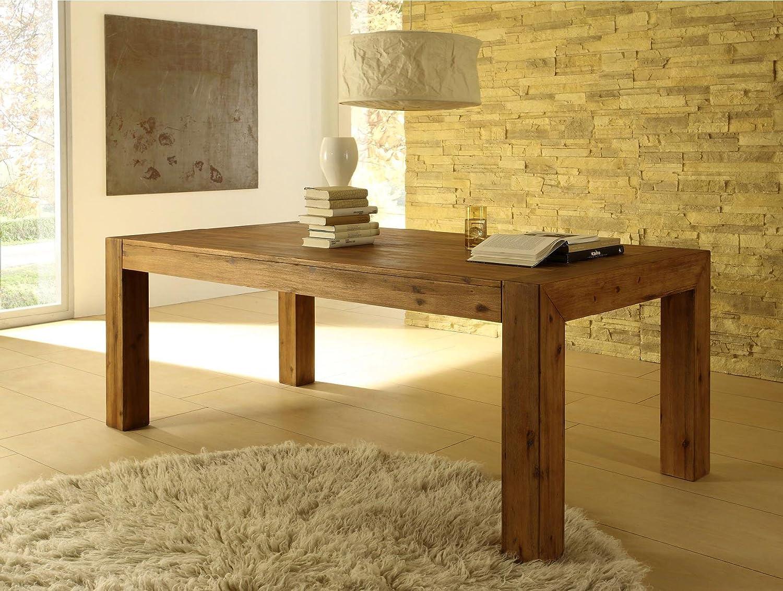 High Quality Florenz Esszimmertisch 200x100cm / Esstisch / Tisch / Holztisch /  Massivholz   Akazie: Amazon.de: Küche U0026 Haushalt
