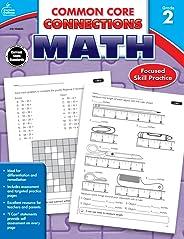 Carson Dellosa | Common Core Connections Math Workbook | Grade 2, Printable