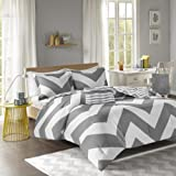 libra reversible chevron comforter set in black white adorable 4pc teal gray and white reversible 908