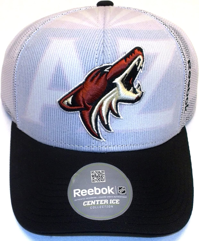 OSFA NX28Z Reebok Arizona Coyotes Draft Structured Mesh Back Hat