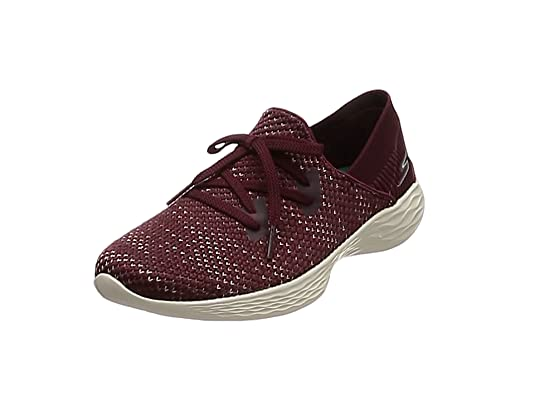 Skechers You-Prominence, Zapatillas sin Cordones para Mujer, Gris (Grey Gry)