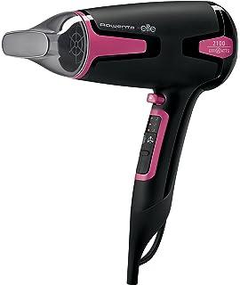 Rowenta Moveling CV3812F0 - Secador de pelo, 2100 Effiwatts, efecto anti estático, iónico, 2…