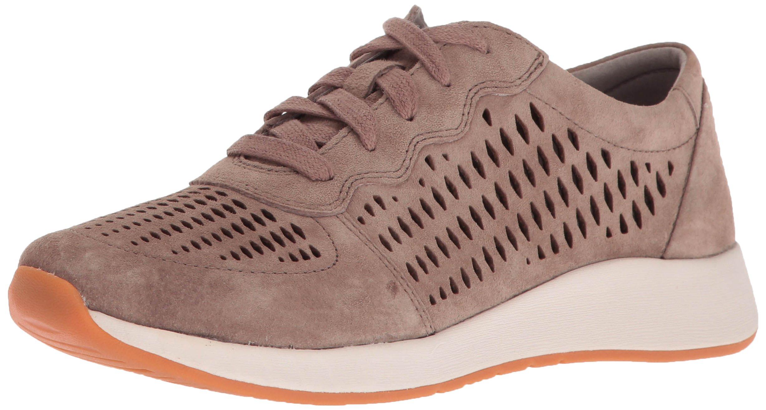 Dansko Women's Charlie Fashion Sneaker, Walnut Suede, 38 EU/7.5-8 M US