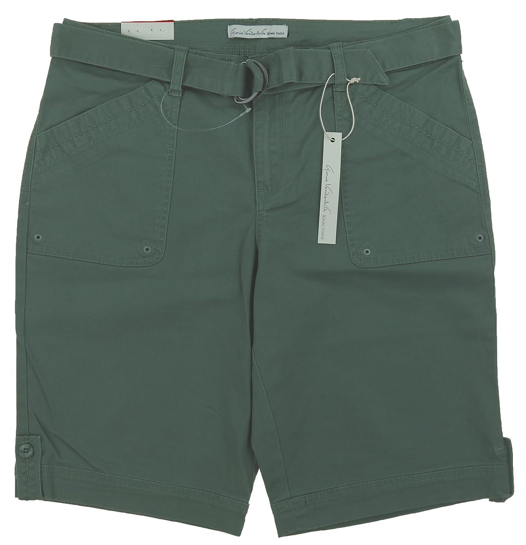5df69527a4 Gloria Vanderbilt Women s Sierra Belted Bermuda Shorts on sale ...