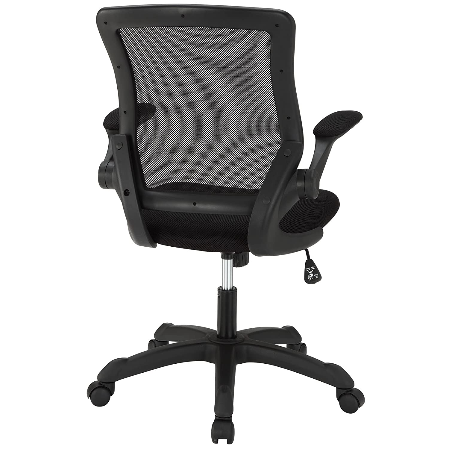 Modway Veer Mesh Office Chair in Black