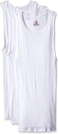Hanes Boys TAGLESS ComfortSoft Cotton A-Shirt 3-Pack