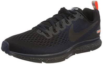 Nike Men's Air Zoom Pegasus 34 Shield Running Shoe  Black/Black-Black-Obsidian