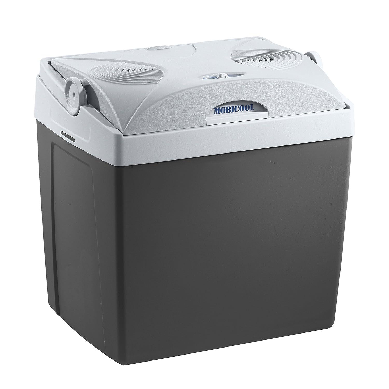 MOBICOOL V30ACDC Glaciè re é lectrique portable, 29L, 12V/230V, 18° C en dessous de la tempé rature ambiante, p296xh445xl396mm, Norme FR, [Classe é nergé tique A++] 18°C en dessous de la température ambiante 910350126