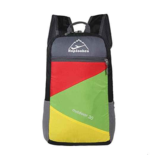 ca41fe6d1f30 Hopsooken Lightweight Rainbow Casual Backpack