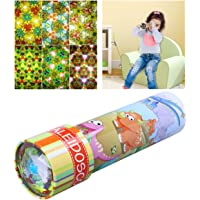 iBaseToy Classic Kaleidoscope Toy with Metal Body - 6 Different Exterior Designs Random Delivery, 1 Piece