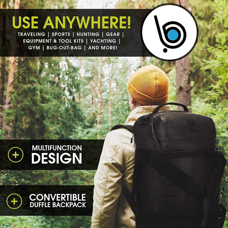 e57f72c474 Amazon.com  Travel Duffel Backpack - Durable