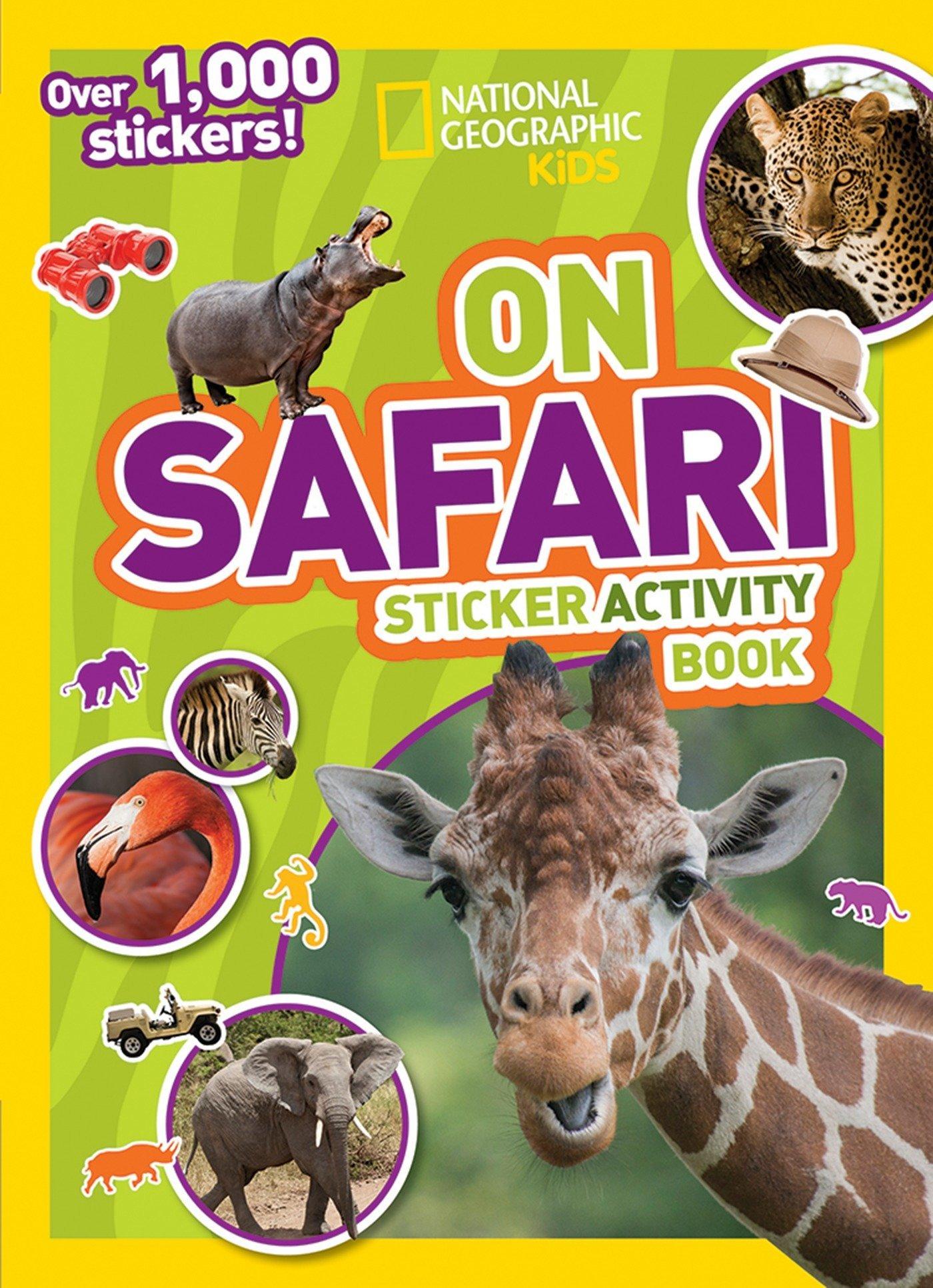 National Geographic Safari Sticker Activity