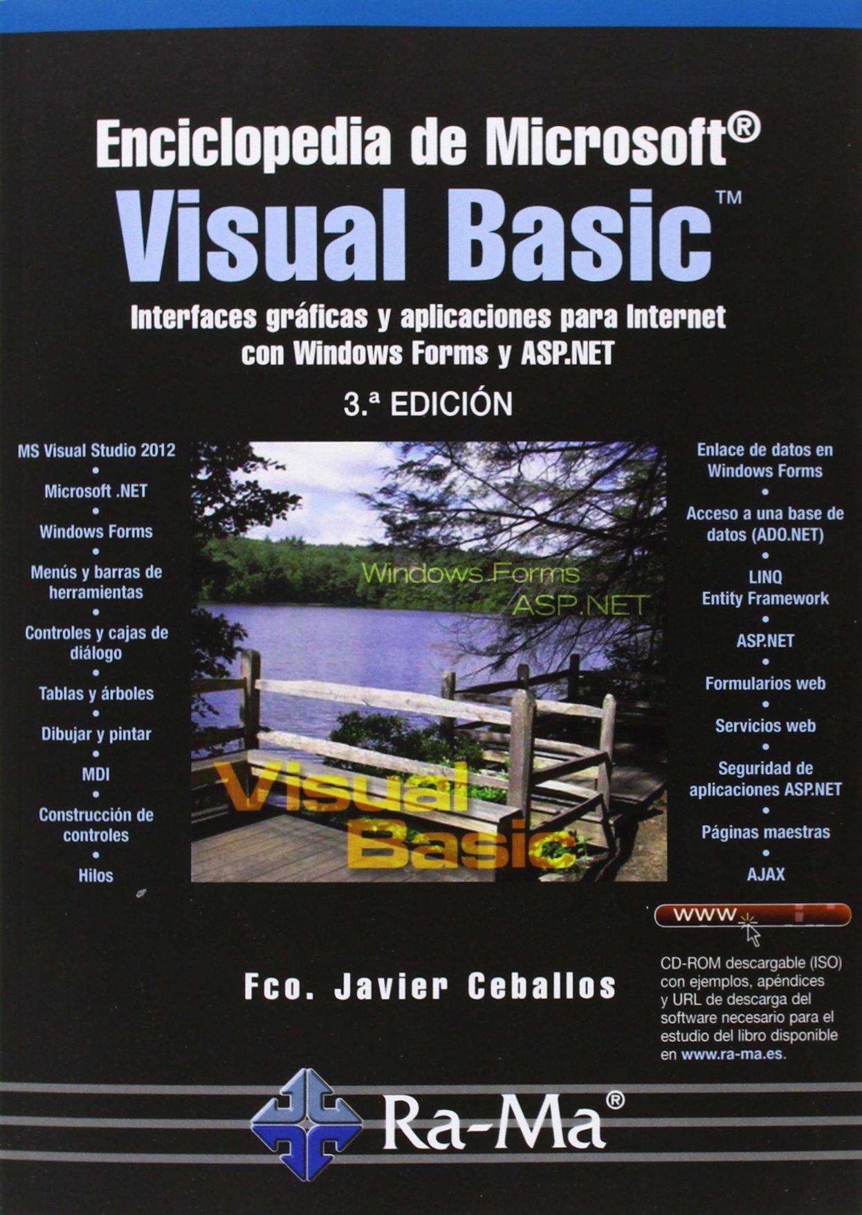 Enciclopedia de microsoft visual basic (Spanish) Paperback – January 1, 2013