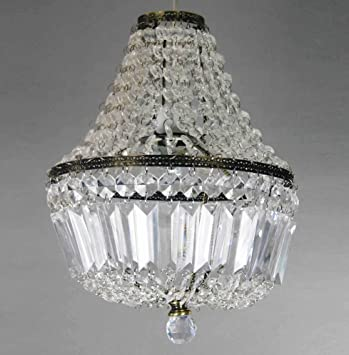 Clear acrylic beaded prism antique brass ceiling light shade easy clear acrylic beaded prism antique brass ceiling light shade easy fit pendant by dove mill lighting mozeypictures Gallery