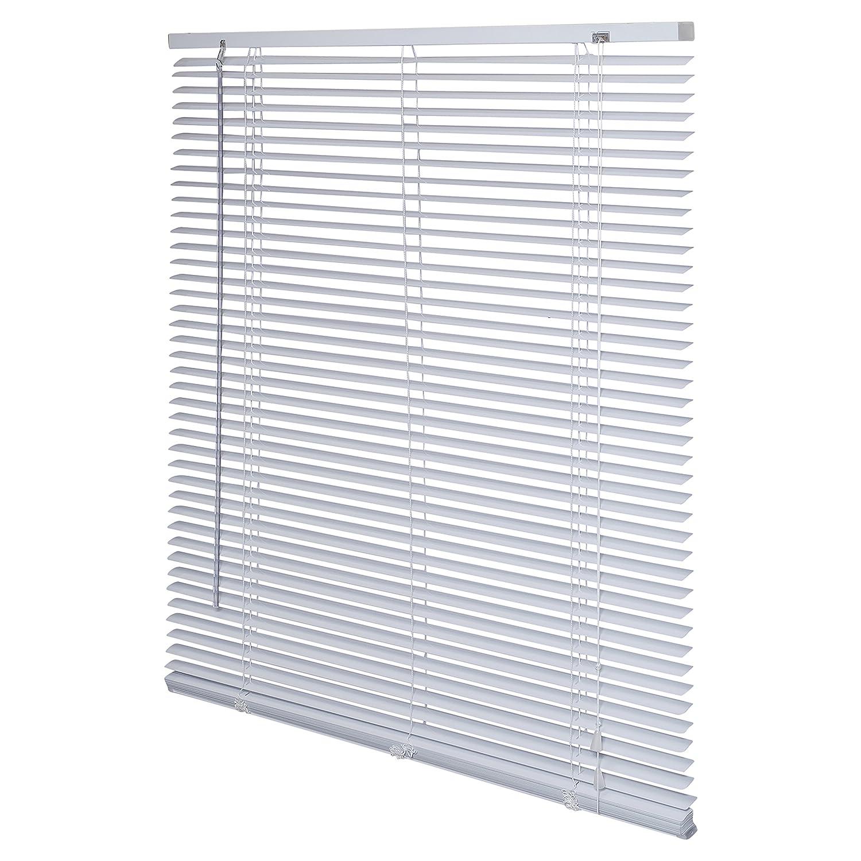 Intensions Veneziana in alluminio, colore: bianco, Alluminio, White, 80 x 130 cm Fetim 1187459