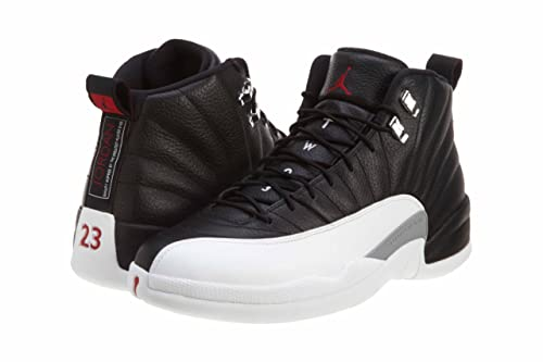 official photos fef0b 207f5 NIKE Mens Air Jordan 12 Retro Playoff Leather Basketball Shoes