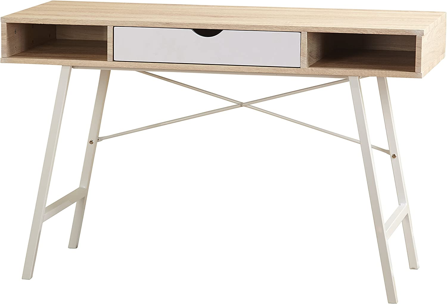 Amazon.com: Target Marketing Systems Edison Writing Desk, Natural