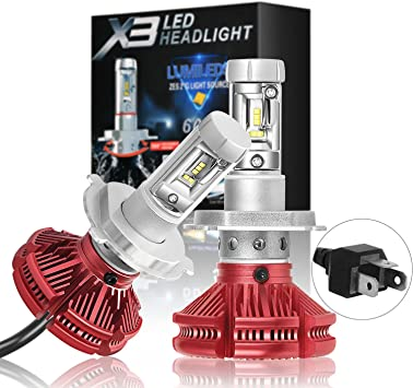 LED Kit X3 50W H7 6000K White Two Bulbs Head Light Low Beam Replace Upgrade Lamp