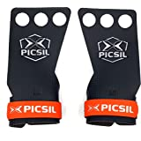 PICSIL RX Carbon Grips 3H - Calleras para Crossfit Grips Gymnastics, Pullups, Weight Lifting, Chin Ups Protect Your Palms.