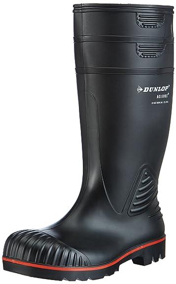8 opinioni per Dunlop- A442031 S5 ACIF. KNIE ZWART#48, Stivali di gomma , unisex
