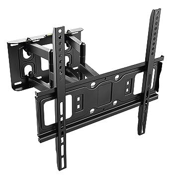 RICOO Wandhalterung TV Schwenkbar Neigbar S5244 Universal LCD Wandhalter Ausziehbar Fernseher Halterung Curved 4K OLED QLED F