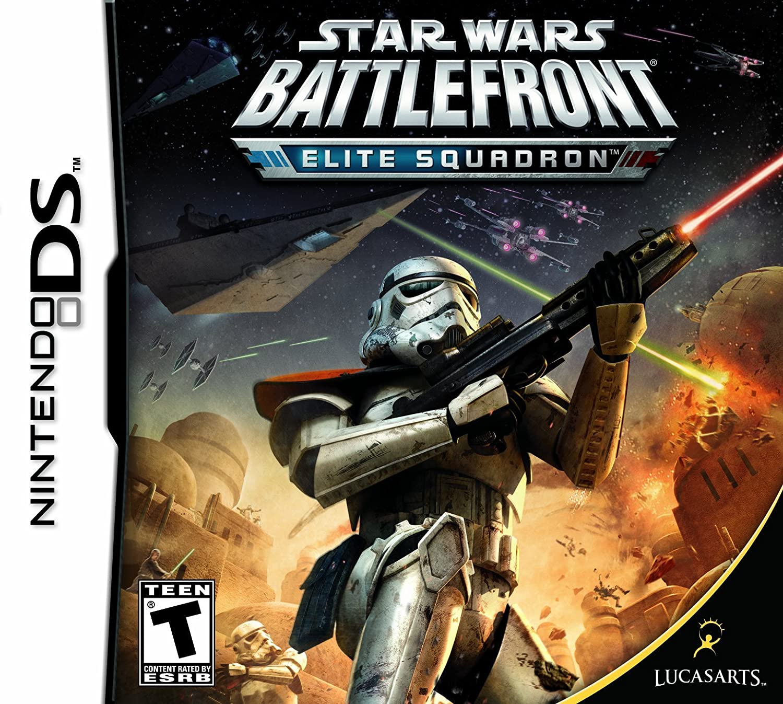 Amazon Com Star Wars Battlefront Elite Squadron Nintendo Ds Video Games
