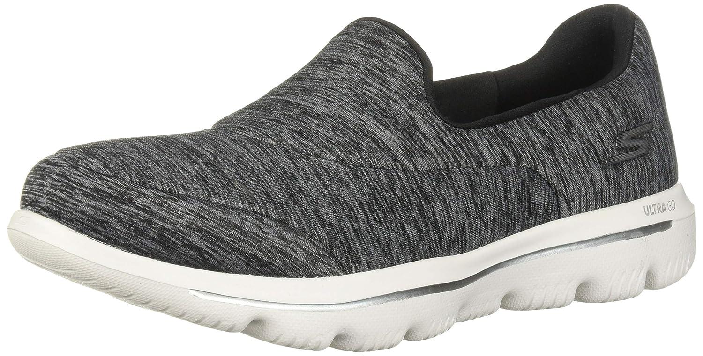 Skechers Damen Slipper GO Walk Evolution Ultra Amazed Grau