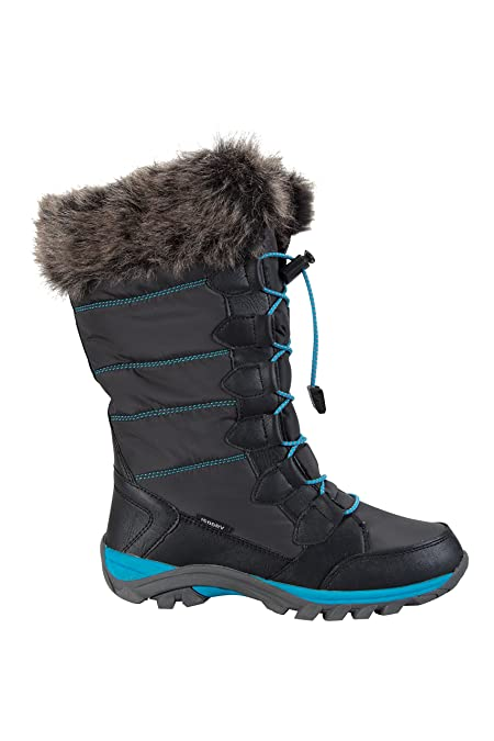 Mountain Warehouse Firbank Kinder-Snowboots Dunkelgrau 30.5 EU 5LS59
