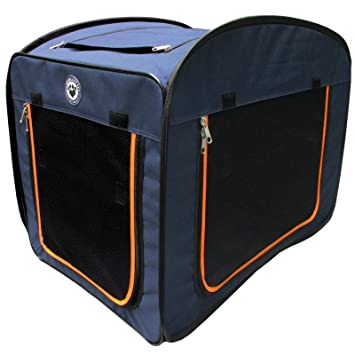 Pop Up Pet Kennel Portable Premium Travel Cage Dog Cat Animal Pets Crate (Small)  sc 1 st  Amazon UK & Pop Up Pet Kennel Portable Premium Travel Cage Dog Cat Animal Pets ...