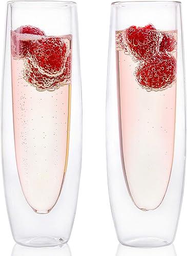 Eparé Champagne Flutes