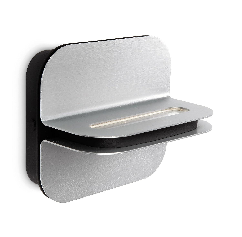 Philips myLiving Patra LED Wandleuchte, Wandleuchte, Wandleuchte, 2-flammig, aluminium 332574816 8a8f6b