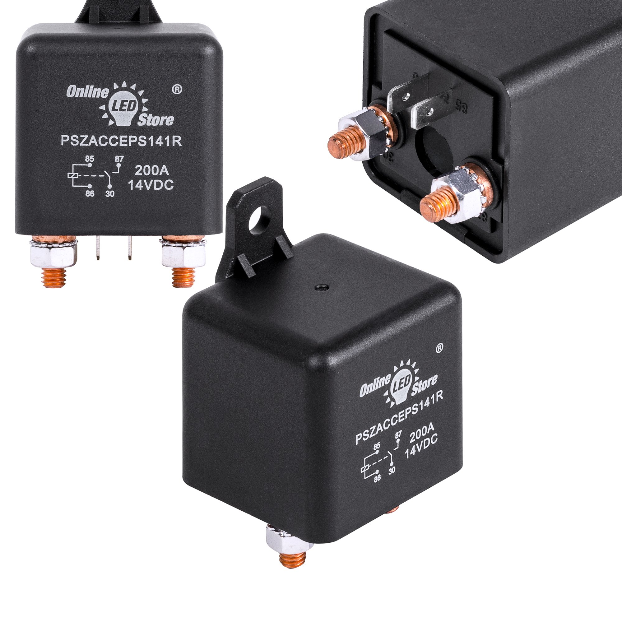 Best Rated In Automotive Replacement Starter Relays Helpful Relay Toggle Circuit Electronic Directory Online Led Store 12v Dc 200 Amp Split Charge Switch 4 Terminal For