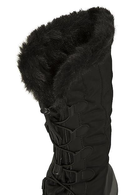 Mountain Warehouse Stivali Alti da Neve da Donna Snowbank - Impermeabili e  Altamente Traspiranti Nero 37  Amazon.it  Scarpe e borse 9715812586a