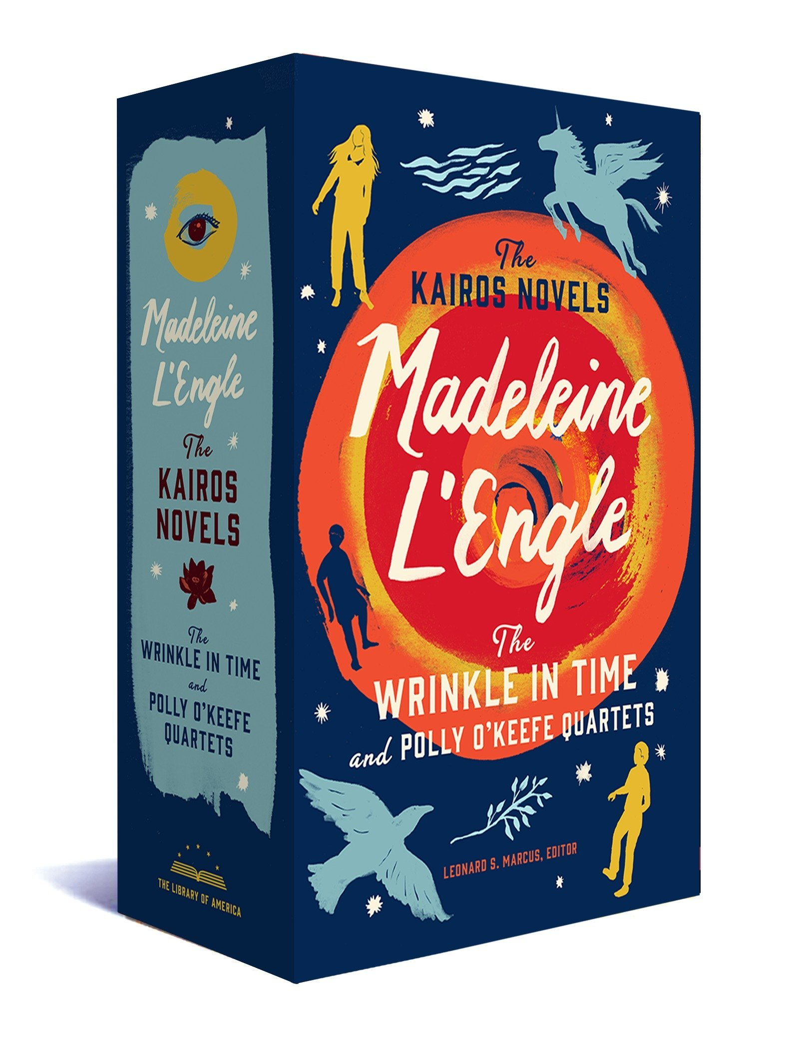 The Kairos Novels A Library of America Boxed Set The Wrinkle in Time and Polly OKeefe  Quartets Madeleine LEngle