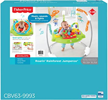 Fisher-Price Roarin Rainforest Jumperoo by Fisher-Price: Amazon ...