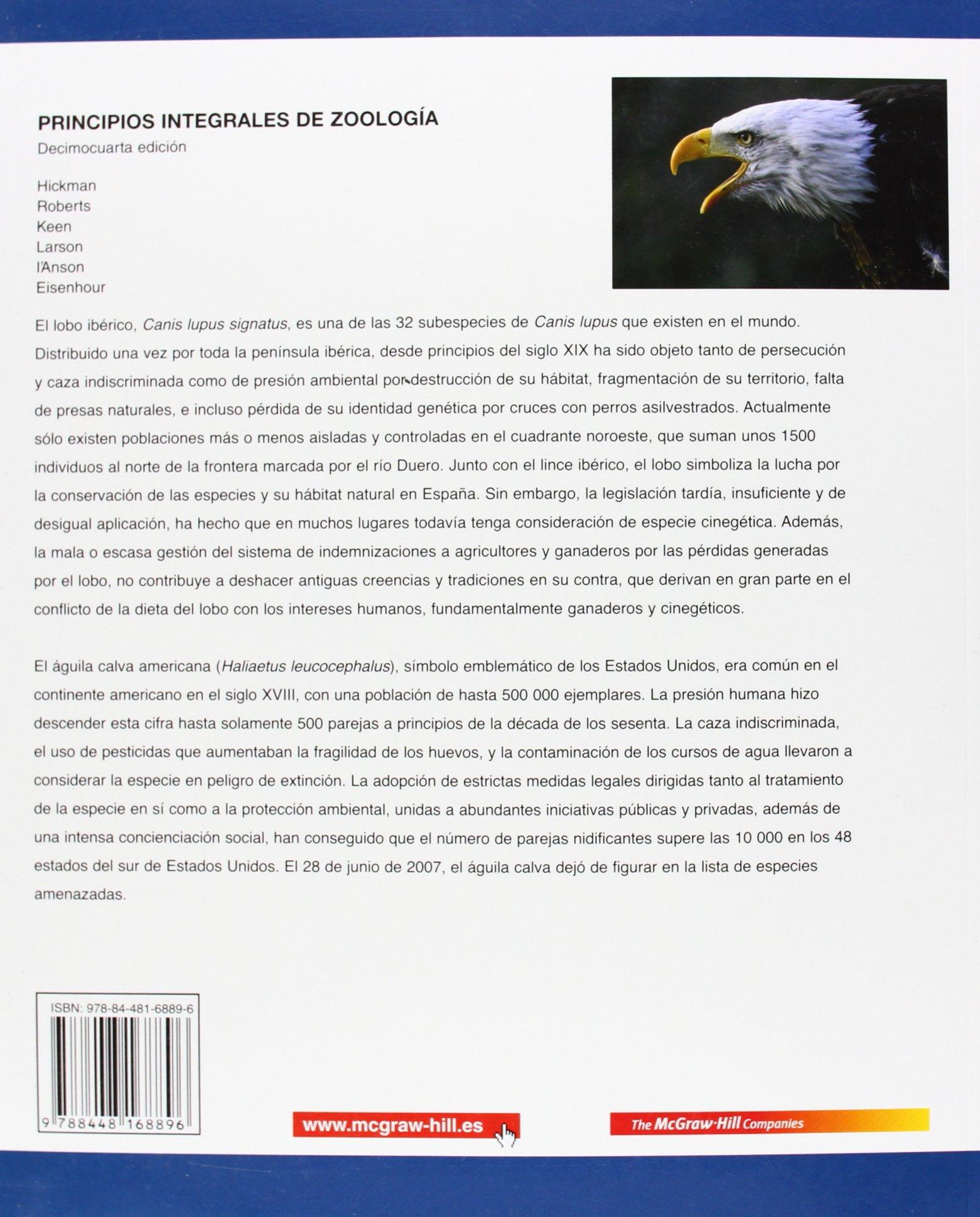 hickman zoologia en espaol 2009