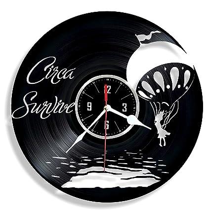 Amazon Hmgift Circa Survive Vinyl Wall Clock Great Gift For