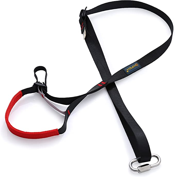 Dometool poliestere regolabile Rock climbing Tree Surgeon piede Ascender loop Sling Belt