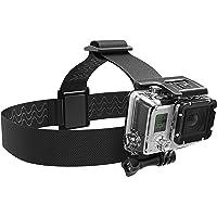 Sabrent GoPro huvudrem kamerafäste (kompatibel med alla GoPro kameror), GP-HDST