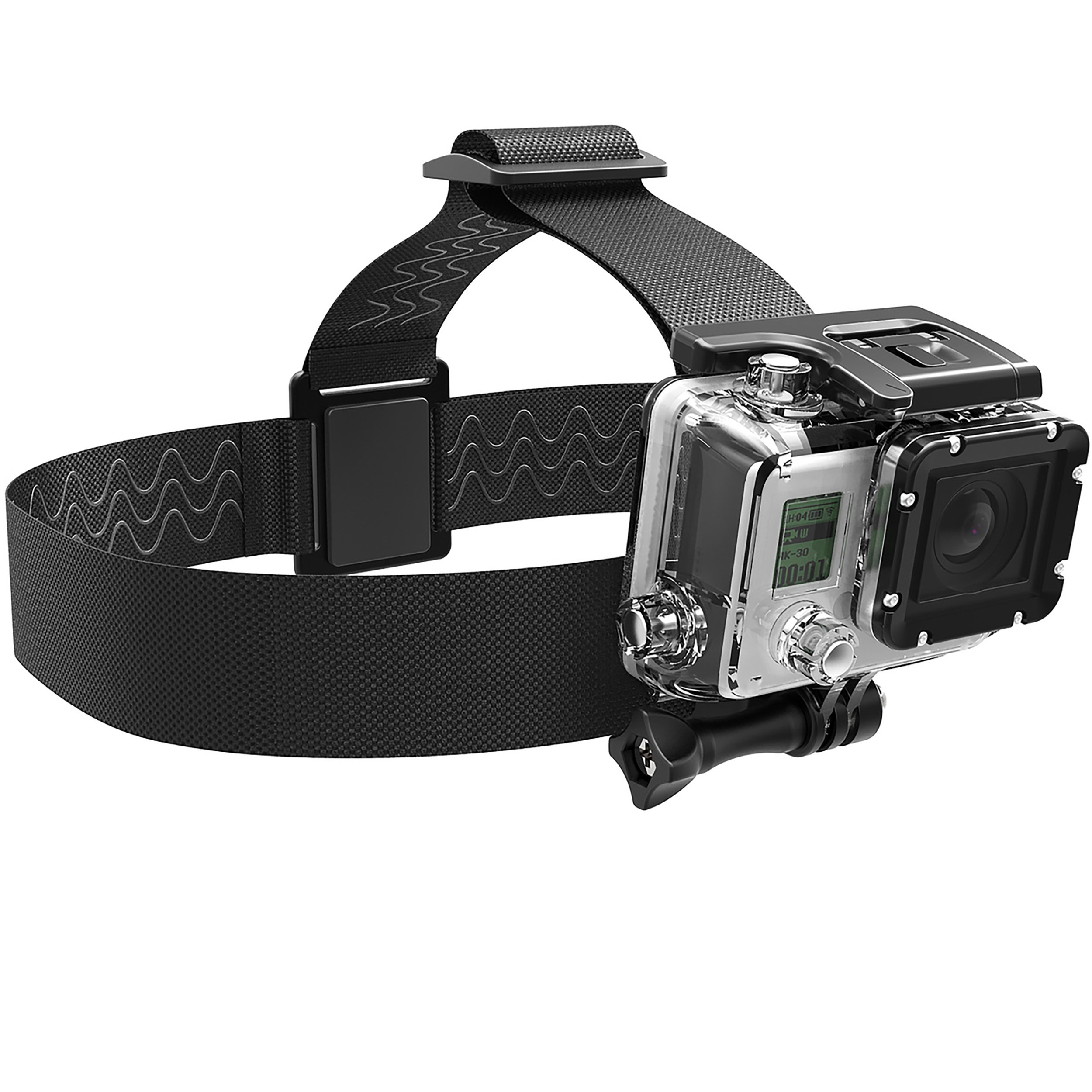 Sabrent GoPro Head Strap Camera Mount [Compatible with all GoPro cameras] (GP-HDST)