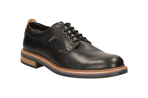 8c1bbbdcc6605d Image Unavailable. Image not available for. Colour  Clarks Men s Lace-Up  Gore-Tex Derby Shoes Darby Walk GTX Black Leather