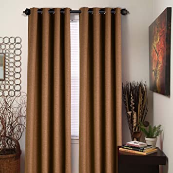 Balichun Luxury Blackout Curtains Window Treatment Thermal Insulated Set Of  2 Panels For Bedroom/Living