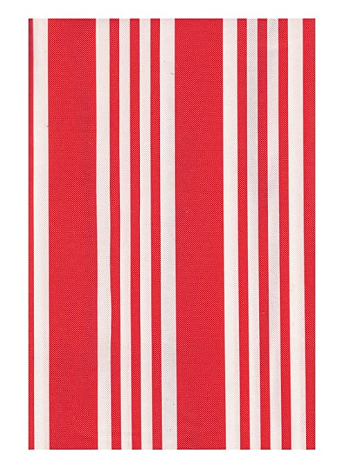 Amazon.com: Sailor Stripe ecovinyl Mantel Rojo y Blanco ...