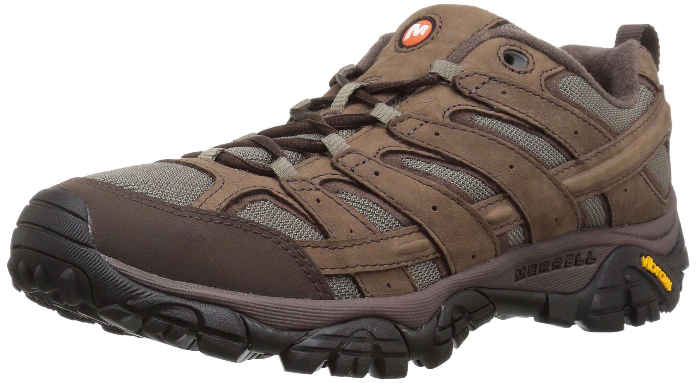 Merrell Men's Moab 2 Smooth Hiking Boot, Bracken, 9.5 M US