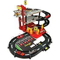 Bburago 15631204 - Parcheggio Ferrari incl 2 auto 1:43