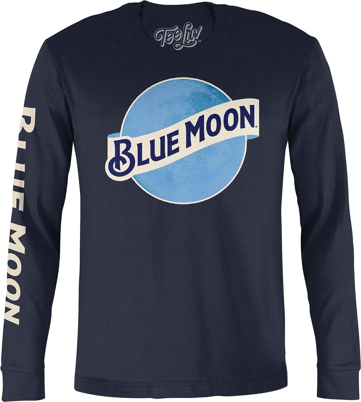 Vintage Tee Alc Tee Blue Moon Tie-Dye Cropped Graphic Tee