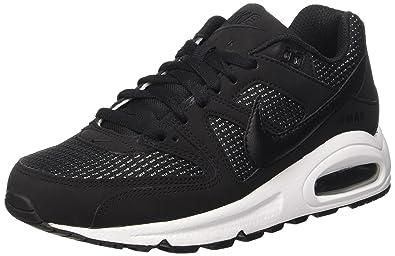 outlet store sale eda87 93672 Nike WMNS Air Max Command, Chaussures de Running Compétition Femme, Noir  Black/White