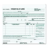 """REDIFORM Bill of Lading, Snap-A-Way, Ruled, 3-Part, Carbonless, 8.5 x 7"""", 250 Individual Forms"""