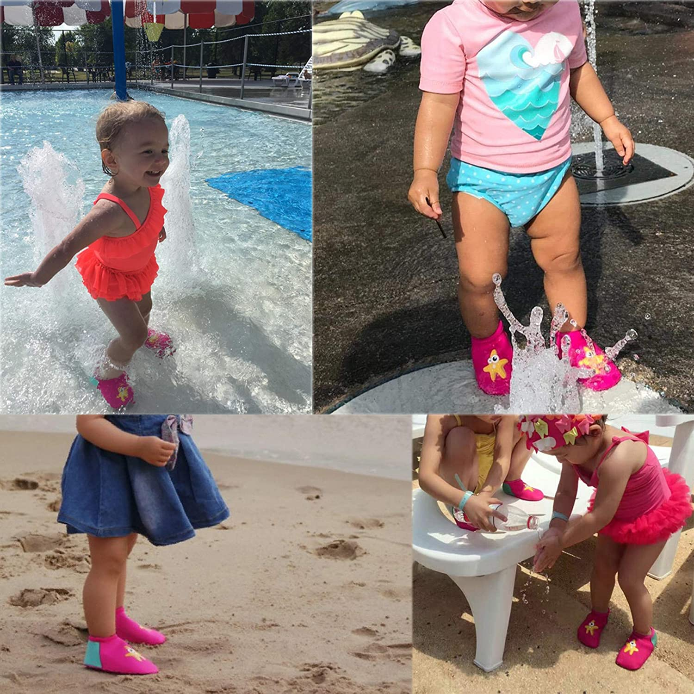 fb2e53361d7 TANZKY natación Unisex Baby bebé zapatos de agua zapatos de playa   Amazon.com.mx  Deportes y Aire Libre